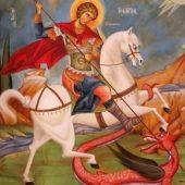 Για τον άγιο Μεγαλομάρτυρα του Χριστού Γεώργιο