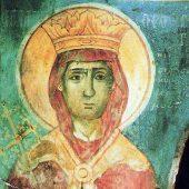 Η αγία Θεοδώρα, βασίλισσα της Ηπείρου