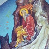 Ο όσιος Ρωμύλος της μονής Ραβάνιτσας