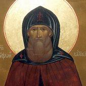 Ο όσιος Τρύφων, ηγούμενος της Μονής της Βυάτκας